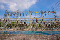 Electric station Stock Image