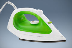 Electric steam iron. Clipping path included royalty free stock image