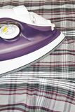 Electric steam iron Royalty Free Stock Images