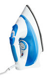 Electric steam iron isolated Stock Images