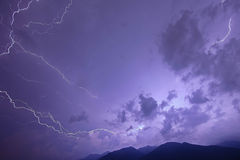 Electric storm Stock Photography