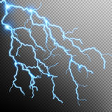 Electric Storm - lightning bolt. EPS 10 Royalty Free Stock Images
