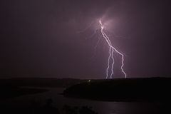 Electric Storm Royalty Free Stock Photography
