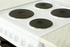 Electric stove Stock Photos