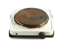 Electric stove Stock Photography