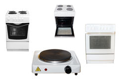 Electric stoves Stock Photos