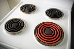 Electric Stovetop royalty free stock images