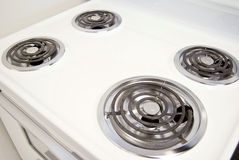 Electric stovetop Stock Image