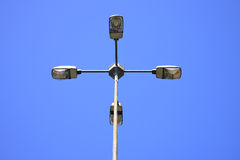 Electric street lamp Stock Photos
