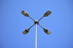 Electric street lamp Royalty Free Stock Photo