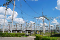 Electric Substation Royalty Free Stock Images