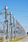 Electric substation Stock Photo