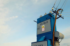 Free Electric Substation And Power Transmission Line Stock Image - 88103801