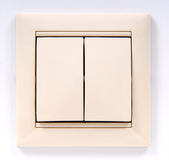 Electric switch Royalty Free Stock Image
