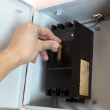 Electric switch Stock Images