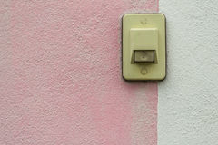 Electric switch Buzzer Royalty Free Stock Photos