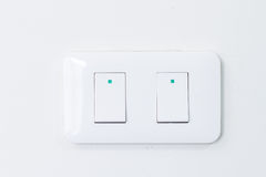 Electric switch Stock Image