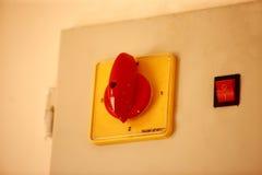 electric switch wall Στοκ φωτογραφία με δικαίωμα ελεύθερης χρήσης