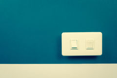 Electric switch Stock Photography
