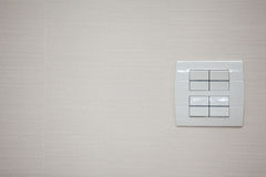 Electric switch Royalty Free Stock Images