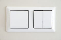 Electric switches Stock Photography