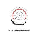 Electric tachometer Stock Image