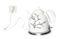 Electric teapot Royalty Free Stock Photos