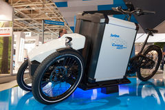 Electric Three Wheeler Stock Images