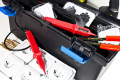 Electric tool box Stock Image