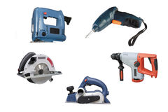 Electric tools Stock Photography