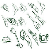 Electric tools Royalty Free Stock Photography