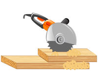 Electric tools cutter Royalty Free Stock Photography
