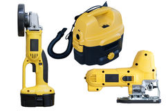 Electric tools set Stock Photography