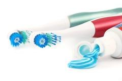 Electric tootbrushes Royalty Free Stock Photos