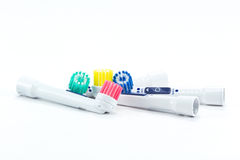 Electric toothbrush head Stock Photography