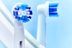 Electric toothbrush Royalty Free Stock Photos