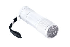 Electric torch. Isolated on a white background Royalty Free Stock Images