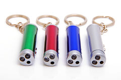 Electric torches-charm. An electric torches-charm for illumination with a laser Stock Photography