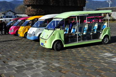 Electric Tourist Transporters, China Stock Photos