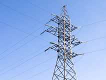 Electric tower Royalty Free Stock Photo