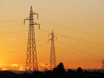Electric tower Stock Photo