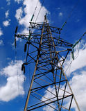 Electric tower Royalty Free Stock Photos