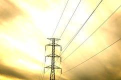 Electric tower Stock Photos