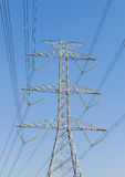 Electric tower Royalty Free Stock Image