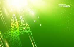 Electric tower. Stock Image