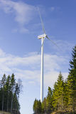 Electric tower windmill generator Royalty Free Stock Image