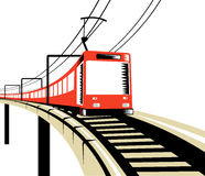 Electric Train royalty free stock photos