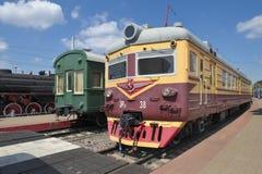 Electric train ER 22-38 Stock Photos