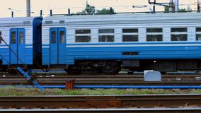 Electric train. stock footage
