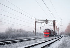 Electric train royalty free stock images